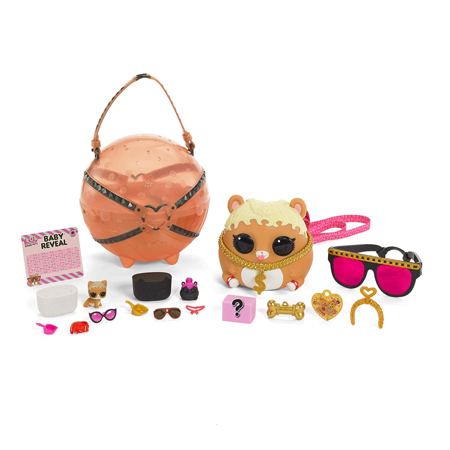 0776e7f7a1e2 Buy LOL Surprise Biggie Pet M.C. Hammy Online at Low Prices in India -  Amazon.in