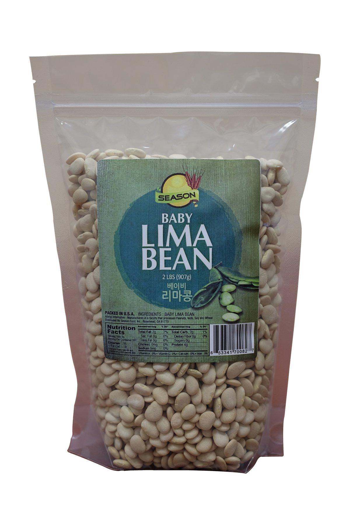 Season Baby Lima Bean, 2-Pound