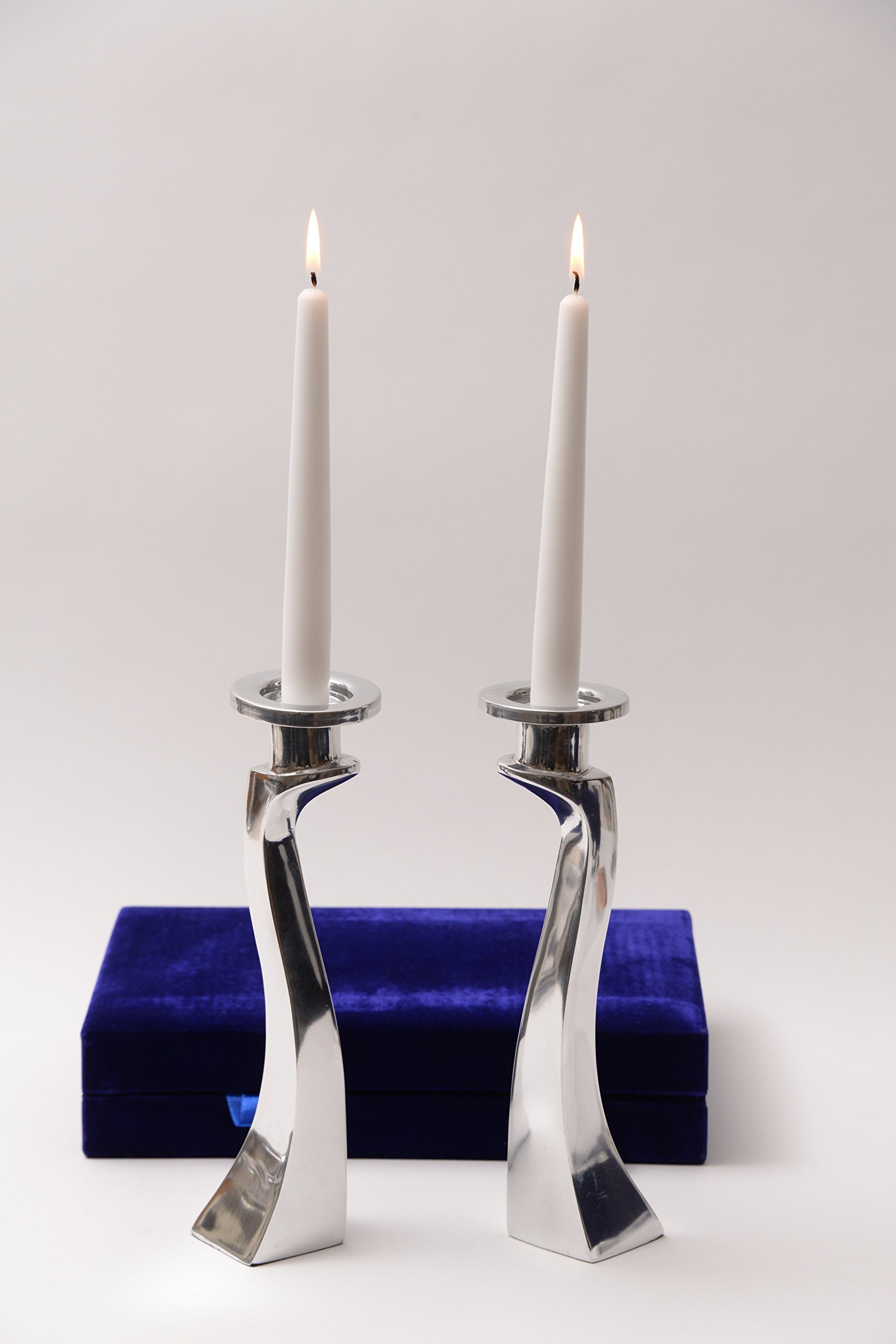 Deeper Than Regular Drip Guard Candlestick Liner Inserts by Ner Mitzvah Heavy Duty Aluminum Protector Bobeches 40 Count Candle Holders Plus