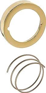 Baldwin 8300 Lock Cylinder Collar, Lifetime Polished Brass