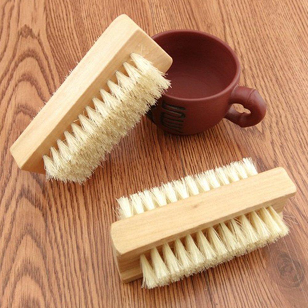 cepillo de limpieza de manicura