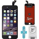 """SANKA Ecran LCD Display Vitre Tactile de Rechange Complet Avec Outils de Réparation pour iPhone 6(4.7"""") - Noir"""