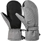 VBIGER Esquí Invierno de Guantes Impermeables a Prueba de Viento Guantes Moto al Aire Libre,Unisex