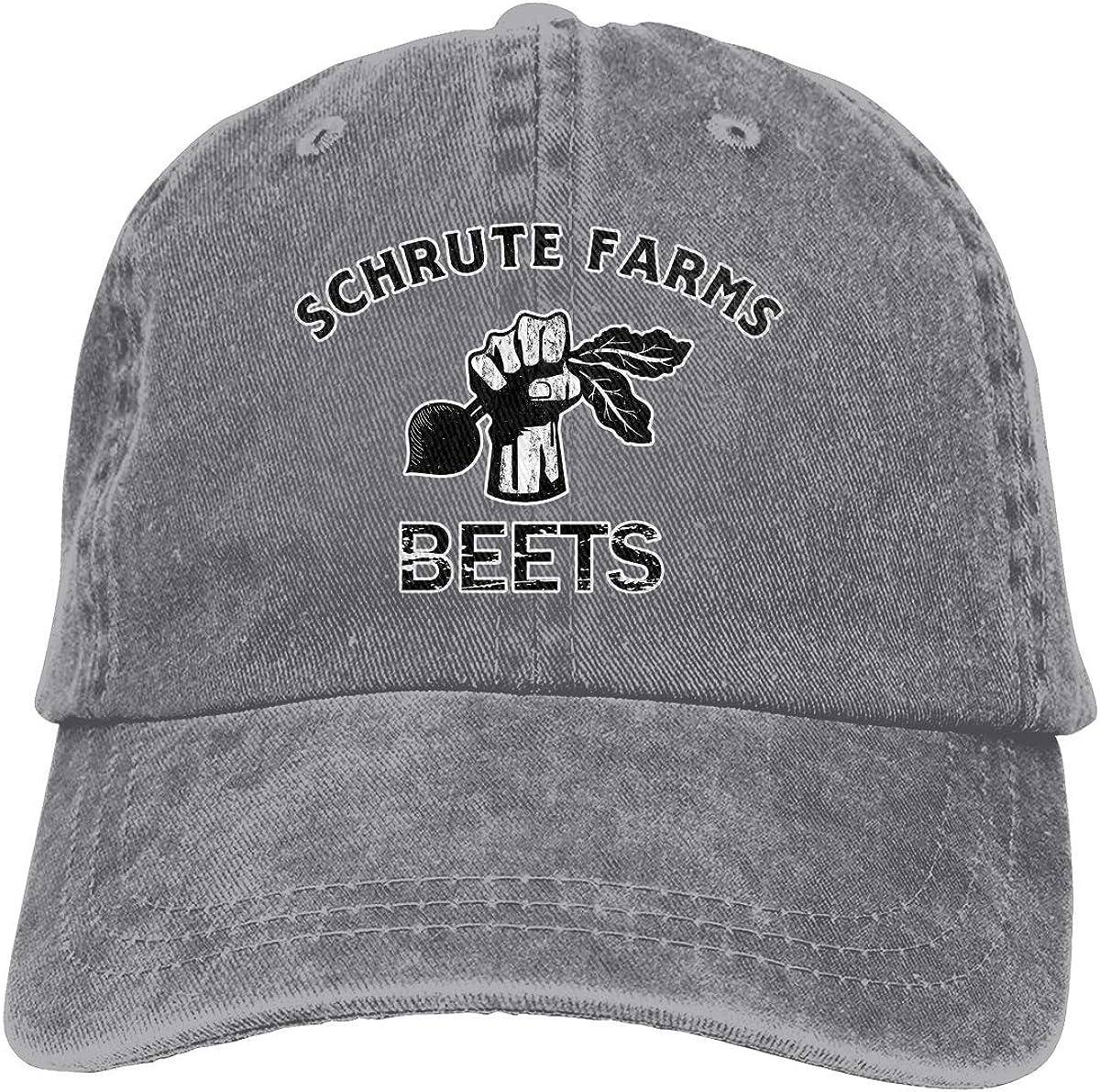 Unisex Schrute Farms Beets Vintage Washed Dad Hat Popular Adjustable Baseball Cap