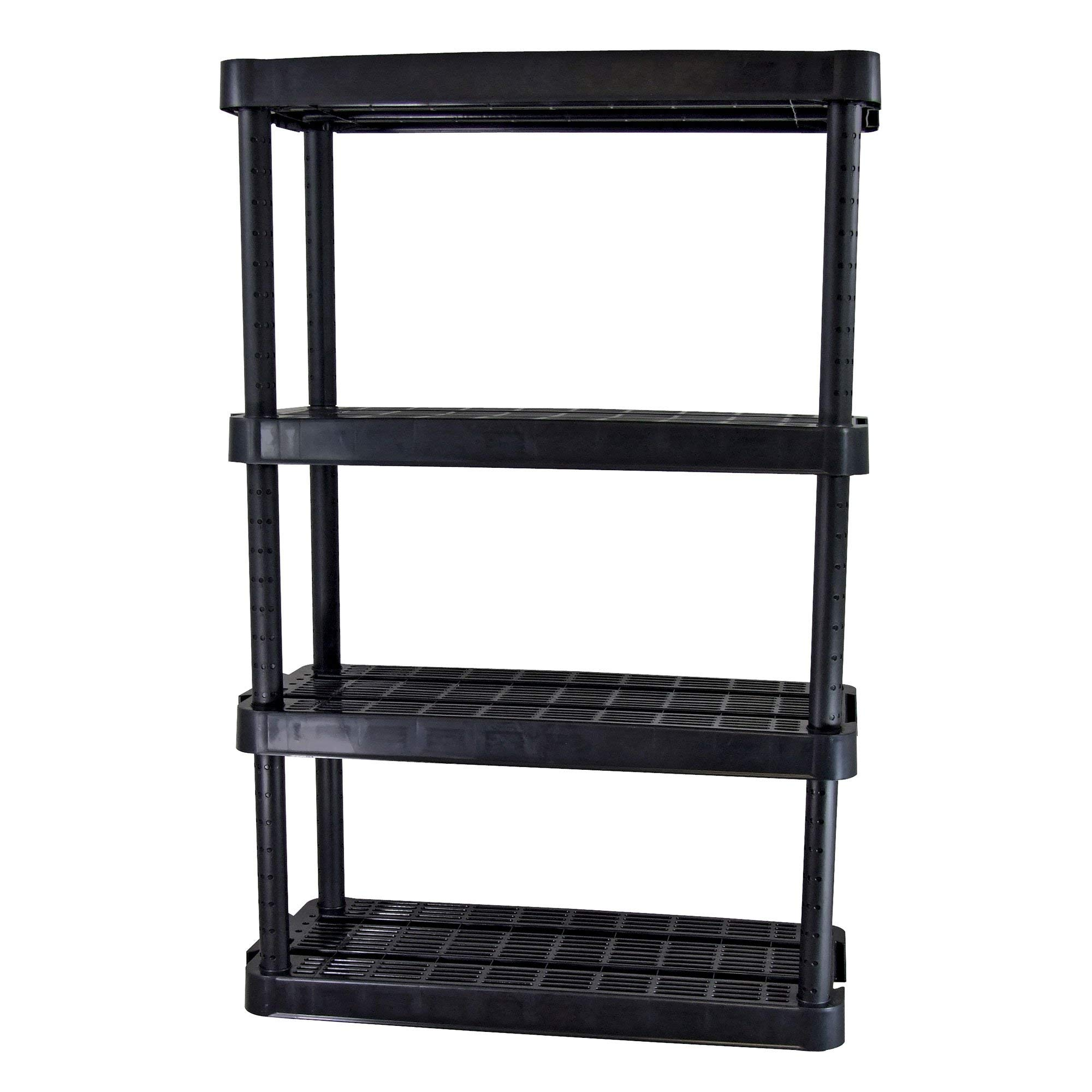 Adjustable 4-Shelf Medium Duty Shelving Unit by Gracious Living