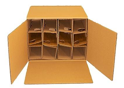 Botella de vino de cartón cartón para 12 botellas, con DHL y ...