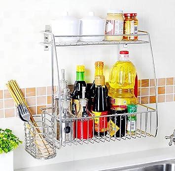 Amazon.de: LBMcf Küche Lagerung und Organisation Küchenregal ...
