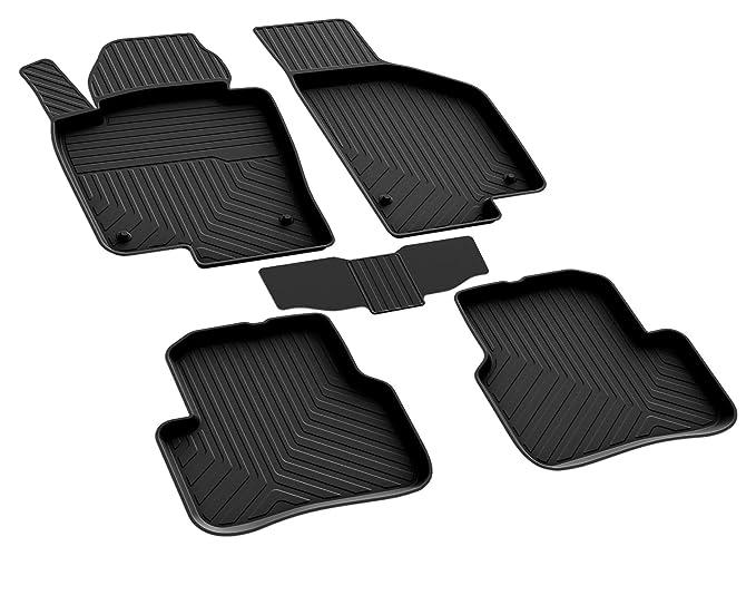Gummimatten Gummi Fußmatten für VW Passat B7 3C 2010-2014 Original Qualität