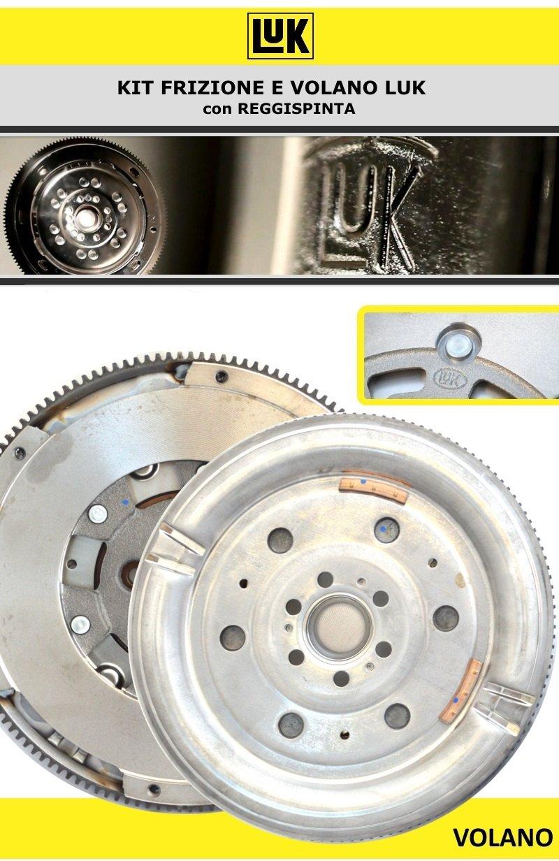 600001300 KIT DE EMBRAGUE LUK MOTOR VW GOLF IV (1J1) 1,9 TDI 96KW 130CV 00 05: Amazon.es: Coche y moto