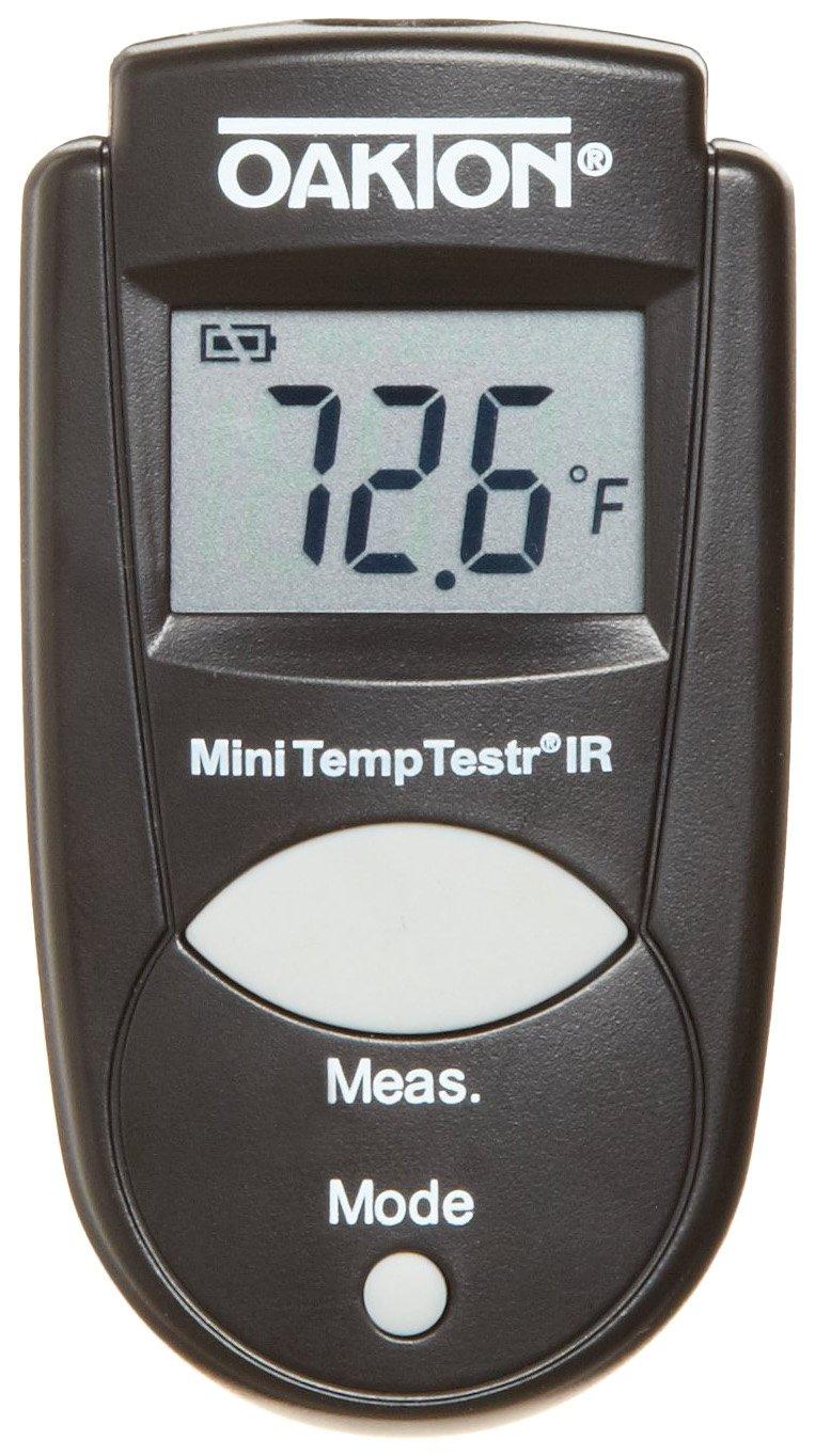 Oakton WD-39642-00 Mini TempTestr IR Infrared Thermometer, -27 to 428°F, -33 to 220 degree C