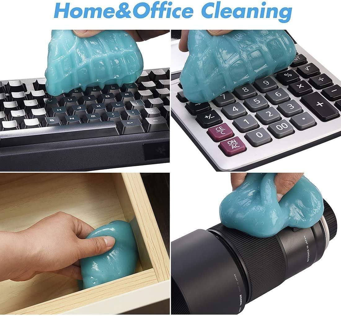 Dust Cleaner for Computer Cleaning Supplies Laptop Cleaning Putty Car Cleaner Gel Dust Cleaner Mud Car Cleaning Slime XBRN Keyboard Cleaner
