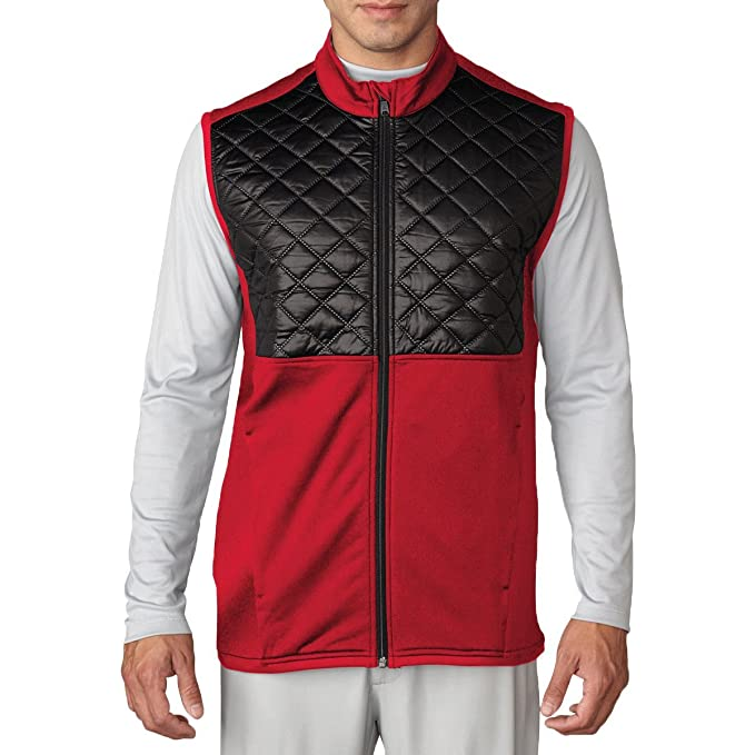 cca1d64d7 Adidas Golf 2016 Climaheat™ Prime Fill Gilet Insulated Quilted Mens Golf  Thermal Vest: Amazon.ca: Clothing & Accessories