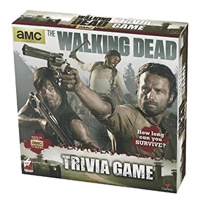 Cardinal Brybelly TTTI-006 The Walking Dead Trivia Game: Toys & Games