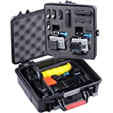 Smatree SmaCase GA500 Floaty/Water-Resist Hard Case for Gopro Hero 5,4, 3+, 3, 2, 1 (Camera and Accessories NOT included)