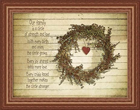 Amazon Our Family Is A Circle Of Strength And Love Country