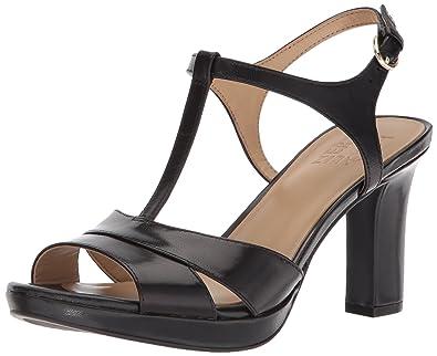 3789822040b Amazon.com  Naturalizer Women s Finn Heeled Sandal  Shoes
