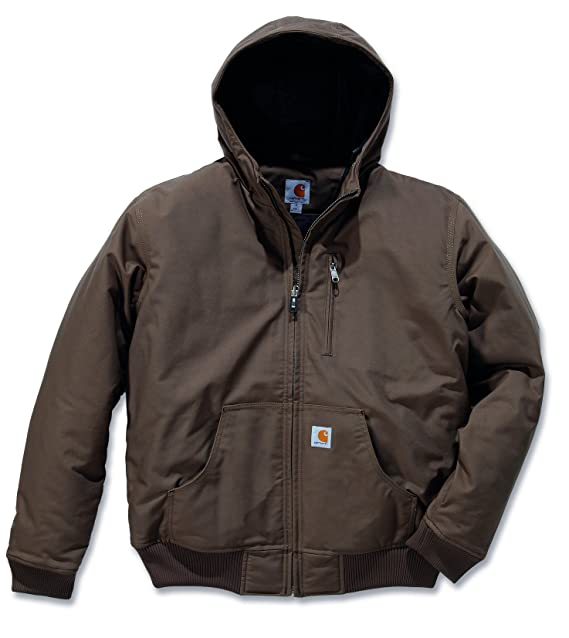 Carhartt - Abrigo Marrón Canyon Brown