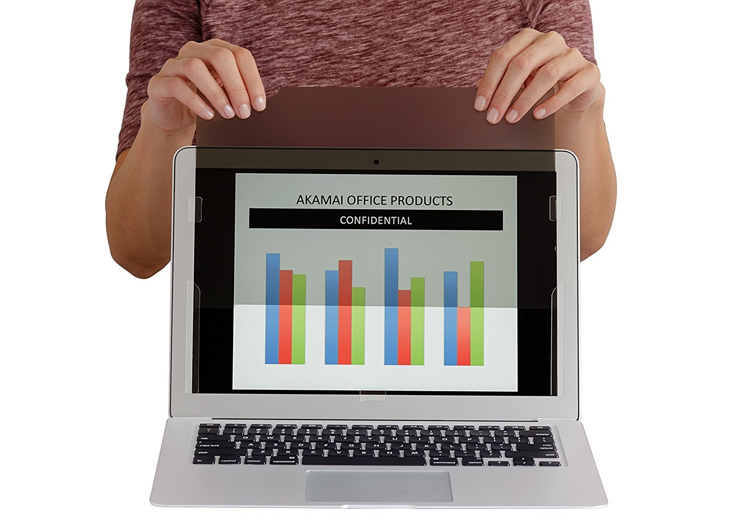 MacBook Privacy Screen Filters Anti-Glare (13 Inch MacBook Air (APNAP002) by Akamai Office Products (Image #5)
