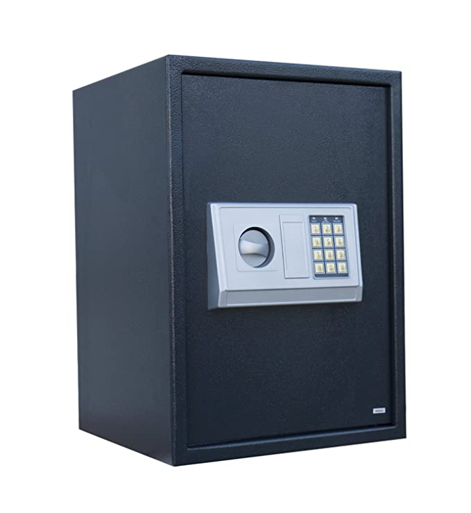 Möbeltresor Digital und Schlüssel Safe Dokumententresor Tresor Wandtresor 692060