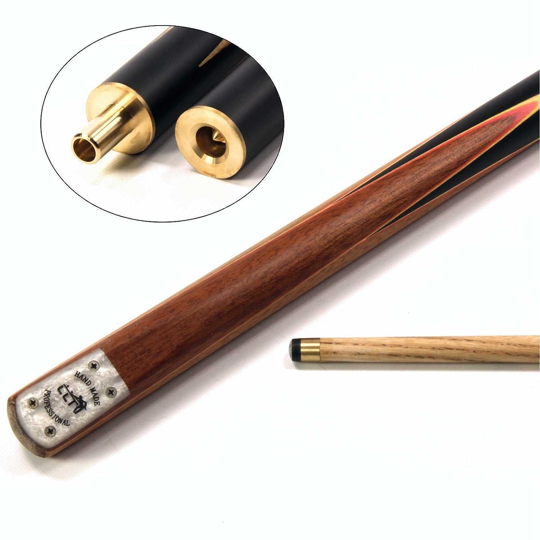 Clearance Phoenix Vier Splice 3/4Snooker-Queue 10mm Spitze–verschiedene Farben Funky Chalk