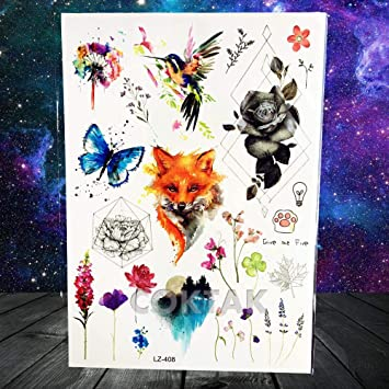 Sexy acuarela lavanda guisantes dulces flor flor tatuajes ...