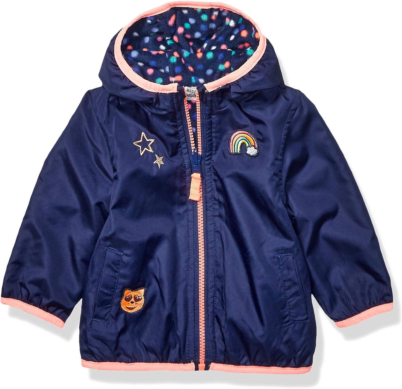 OshKosh BGosh Baby Girls Reversible Midweight Jacket