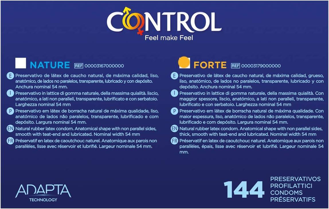 Control Preservativo Forte - Caja Profesional de condones 144 ...