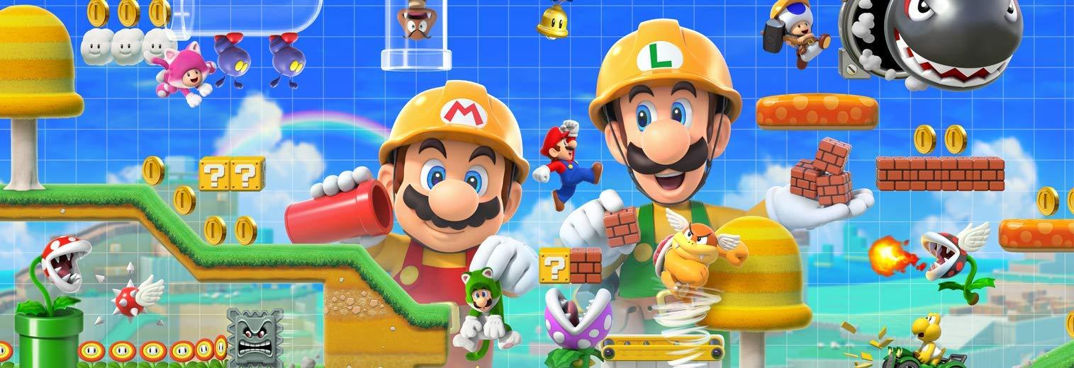 Amazon com: Super Mario Maker 2 - Nintendo Switch: Nintendo of