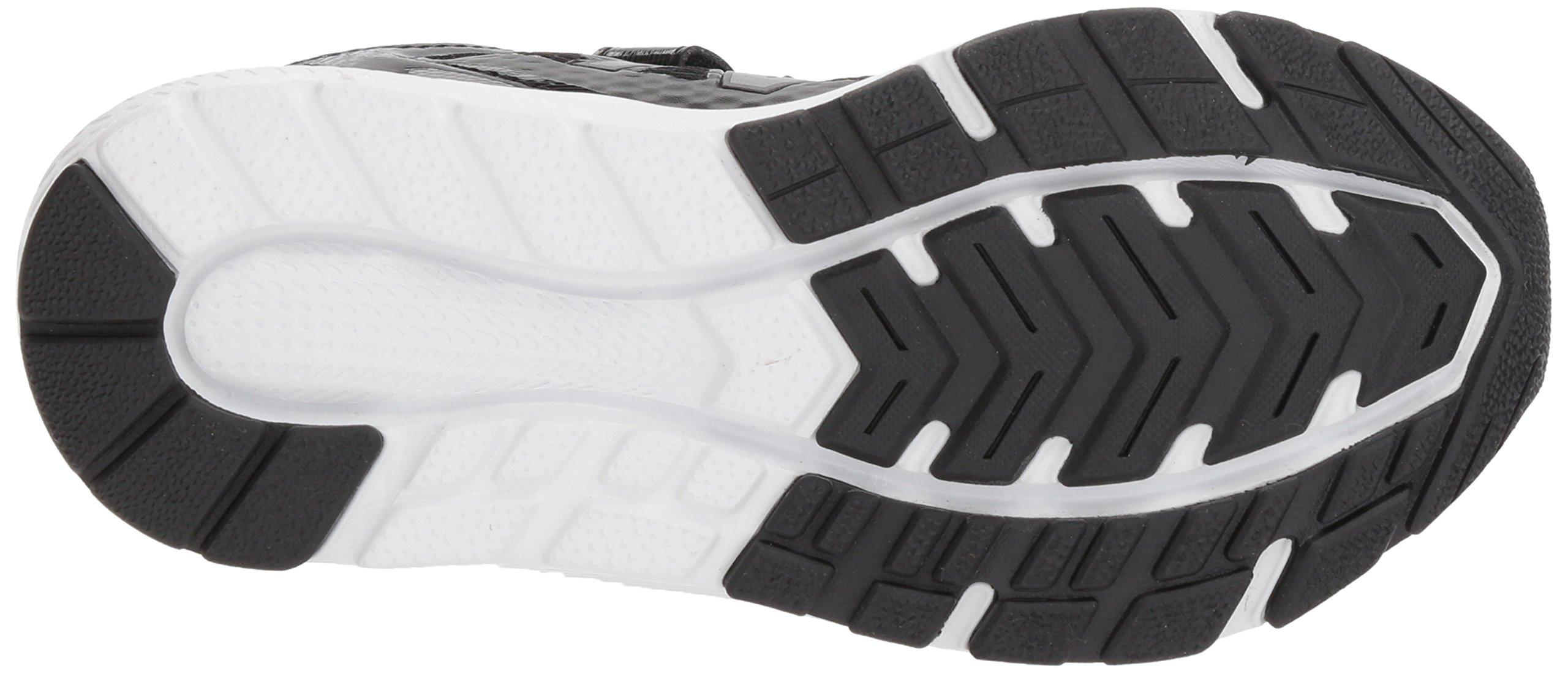 New Balance Boys' 519v1 Hook and Loop Running Shoe Black/White 2 M US Infant by New Balance (Image #3)