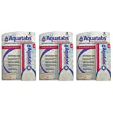 Aquatabs 90-Count 3 Water Purification Tablets (Pack of 30)