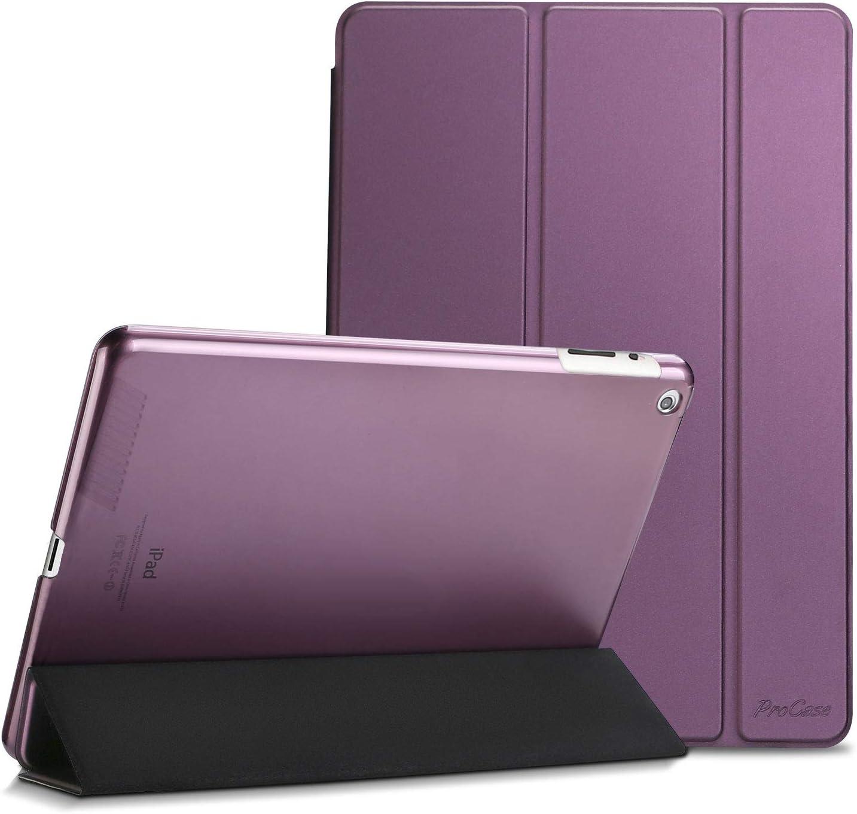 Funda ProCase para Apple iPad 2 / iPad 3 / iPad 4 (Violeta)
