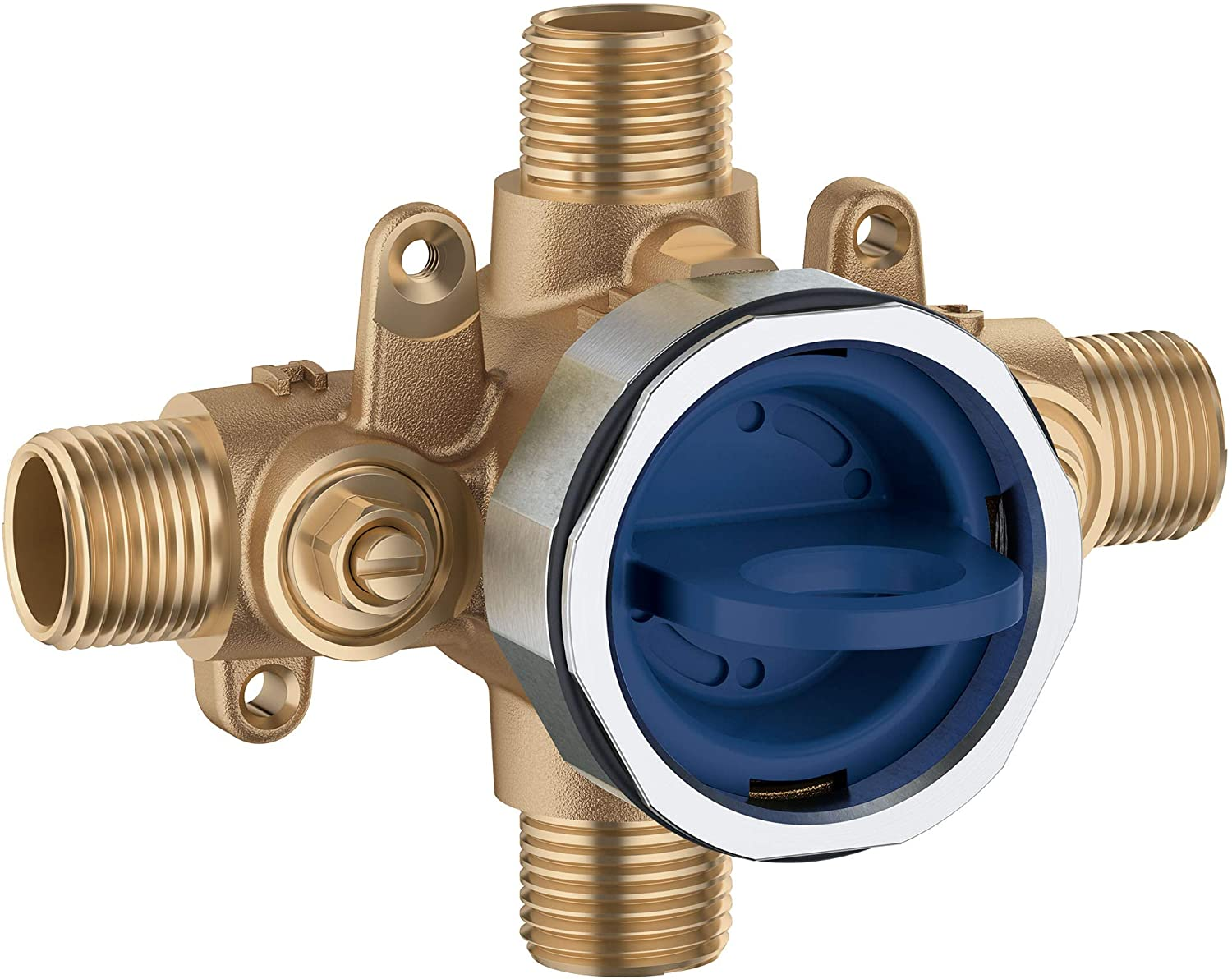 Grohe 35110000 Grohsafe 3 0 Pressure Balance Rough In Valve Unfinished Amazon Com