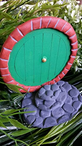 Fairy door fairy garden Hobbit door Lord of the rings door bilbo & Amazon.com: Fairy door fairy garden Hobbit door Lord of the rings ...