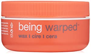 RUSK Being Warped Wax, 1.8 Oz, A Wax that Provides Shine and Definition, Adds a Thicker Texture to Hair, Humidity-Resistant Formula Provides Volume, Body, and Thickness