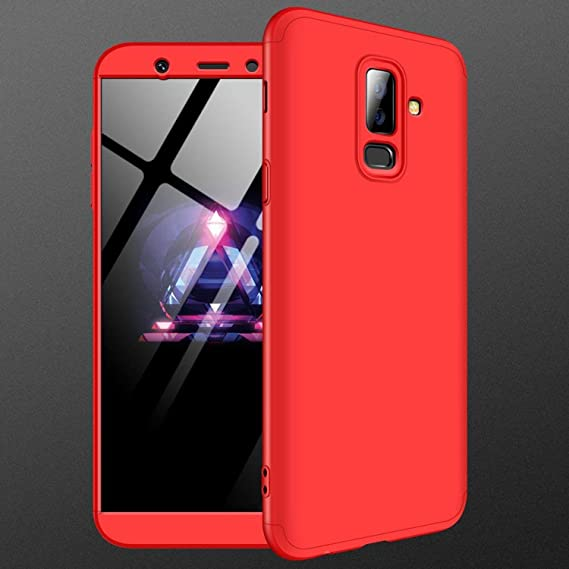 designer fashion ead15 27033 Amazon.com: Galaxy A6 Plus 2018 Case,MYLBOO [3 in 1 360 Degrees Full ...