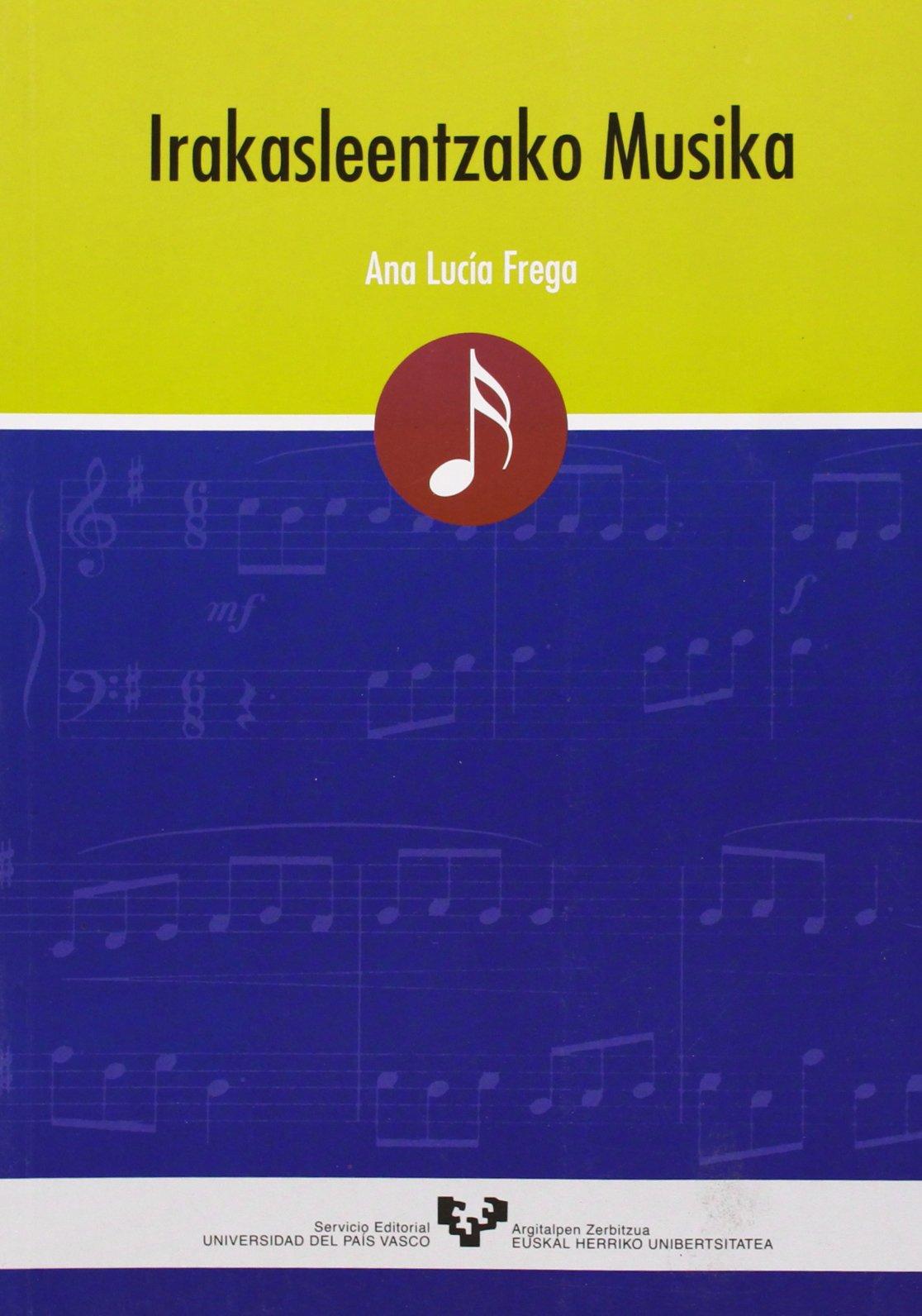 Irakasleentzako musika (Vicerrectorado de Euskara)