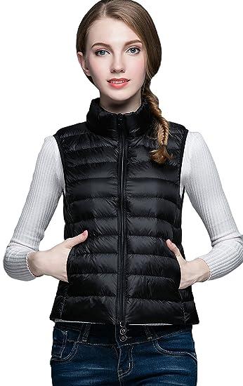 Léger Léger Léger Femme Manche Doudoune Hiver Hiver Hiver La Manteau Veste Sans Vogue Gilet 8qXXvxI
