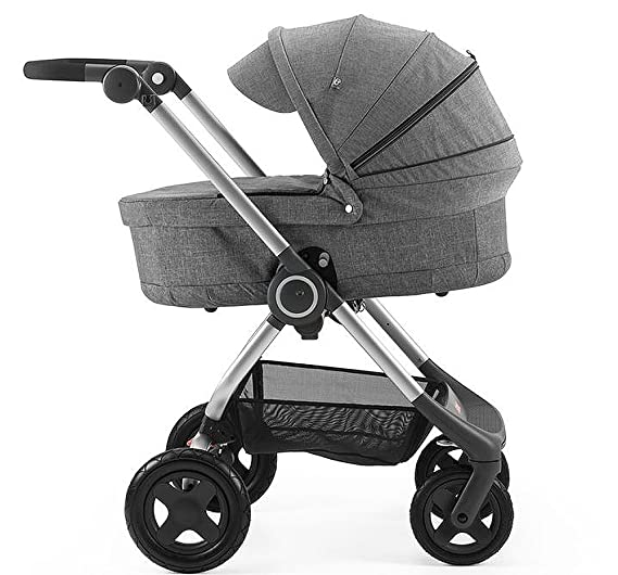 Stokke Scoot Gris - Cuna (450 mm, 830 mm, 600 mm, 3,6 kg): Amazon.es: Bebé