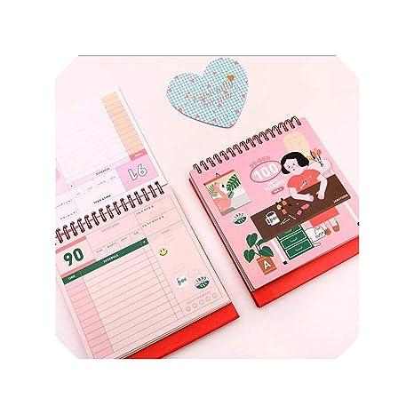 Amazon.com : 100 Days Planner Cute Agenda Scheduler Spiral ...