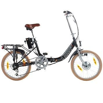 20 Pulgadas Viking Hopper elektrofalt Cilindro de hop102 – 1 Negro Pedelec plegable E-Bike