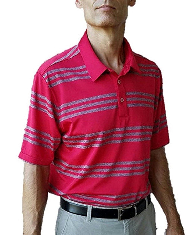 adidas Climalite Polo de Golf para Hombre - 00-ZRO9FH-68, Rojo ...