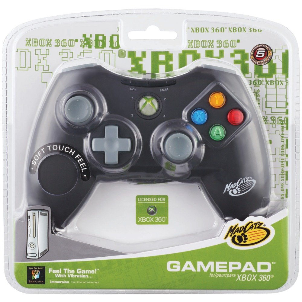DRIVER FOR MADCATZ XBOX 360 WIRED CONTROLLER PC