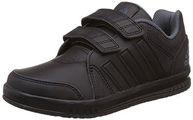 black adidas trainers uk
