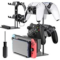 Controller Organizer for Desk, Display Controller Stand for PS5/ PS4/ Xbox Series /One X/S/ Nintendo Switch/ Pro…