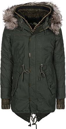 29afe67fad90 khujo Arche with Inner Jacket 1718CO163J Damen-Winterjacke  Amazon.de   Bekleidung