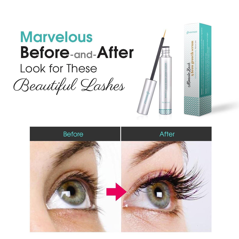 Amazon Eyelash Eyebrow Growth Serum Eyelash Enhancer 5 Ml