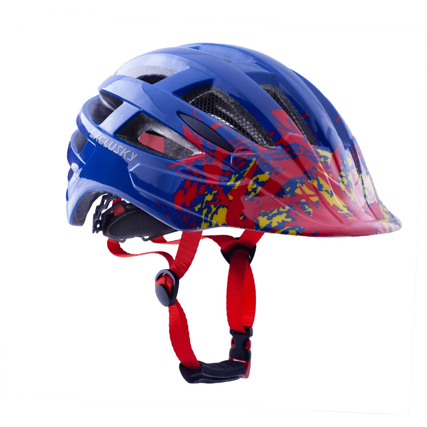 Exclusky Adult Bike Helmets Ultralight for Urban Commuter Adjustable M L Size 22-24 Inches