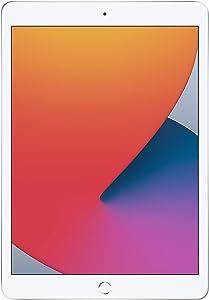 New Apple iPad (10.2-inch, Wi-Fi, 32GB) - Silver (Latest Model, 8th Generation) (Renewed)