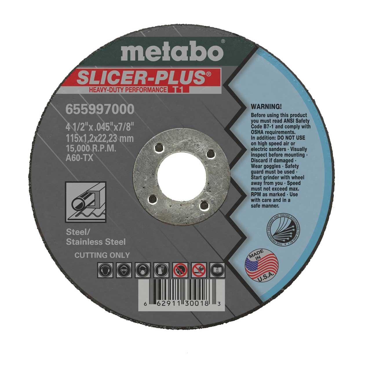 4-1/2'' Slicer + Cutting Wheel (50pk)