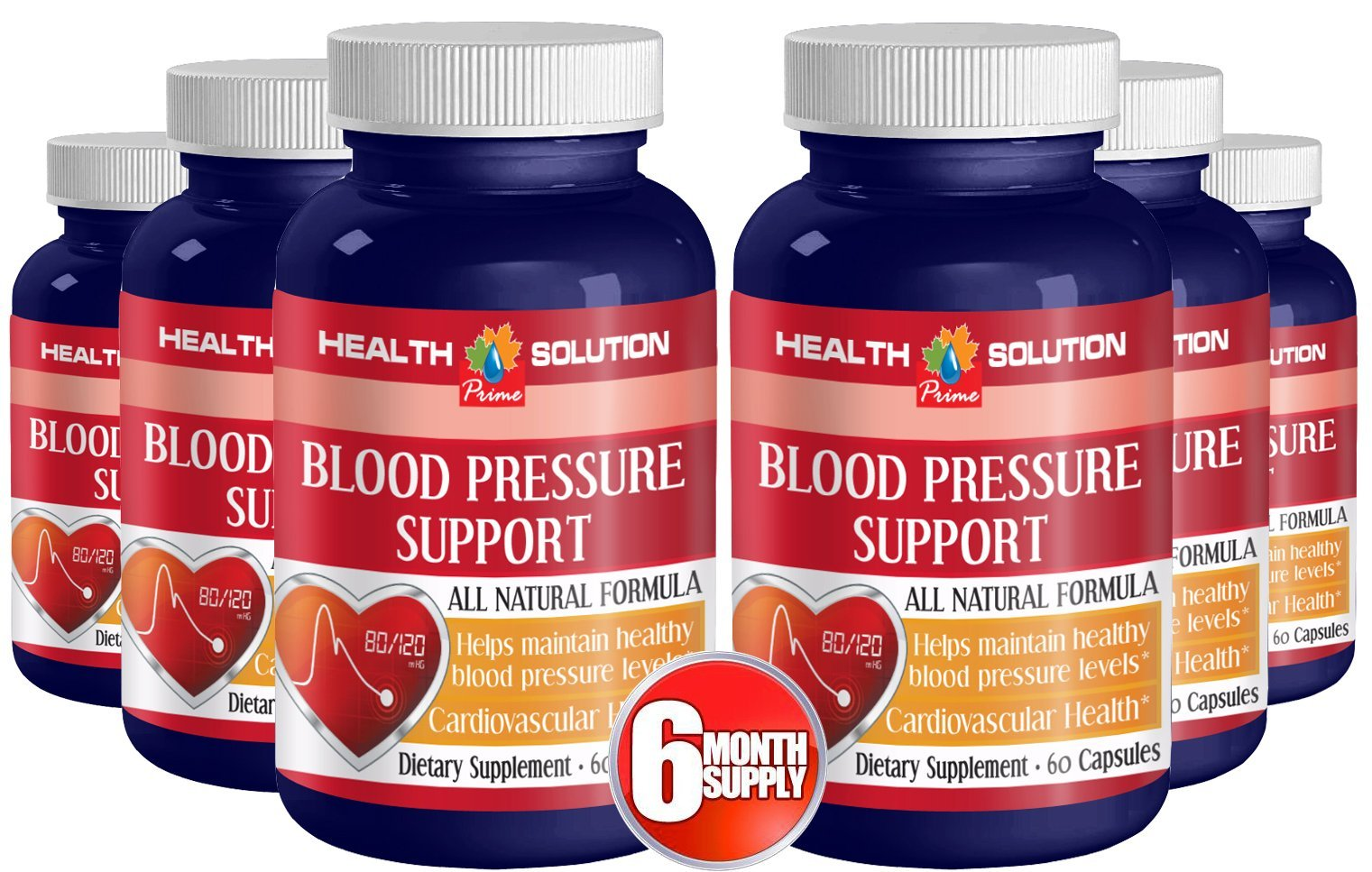 Vitamin b 12 - BLOOD PRESSURE SUPPORT - antioxidant support (6 bottles)